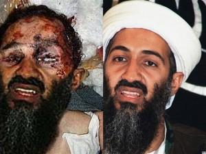 Faked Bin Laden death photo comparison